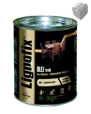 Olej na dřevo Lignofix Teak 0,75l karton