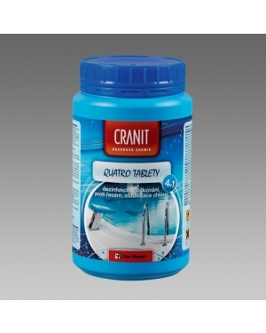 Bazénová chemie Cranit Quatro 2,4kg