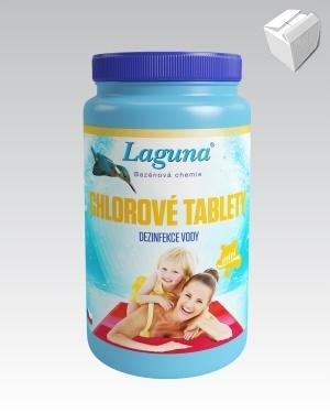 Laguna Chlorové tablety mini 1kg karton