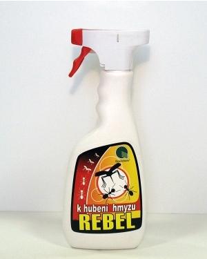Rebel k hubení hmyzu 500 ml spray Doprodej