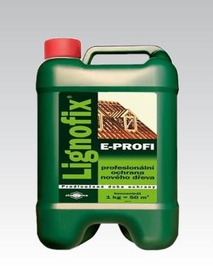 Lignofix E-Profi hnědý 5kg
