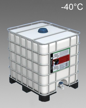 Nemrznoucí směs - kapalina do ostřikovačů -40°C kontejner 1000l