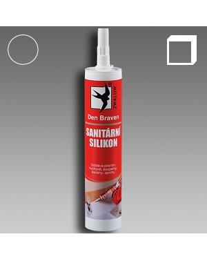 Sanitární silikon transparentní 310ml karton