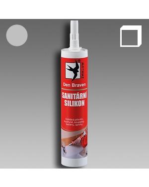 Sanitární silikon světle šedý 310ml karton