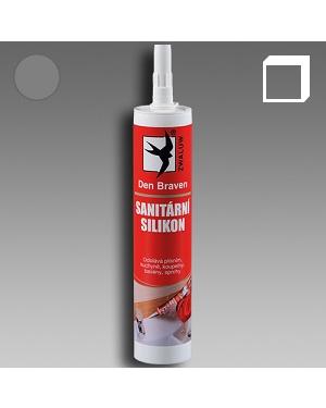Sanitární silikon šedý 310ml karton