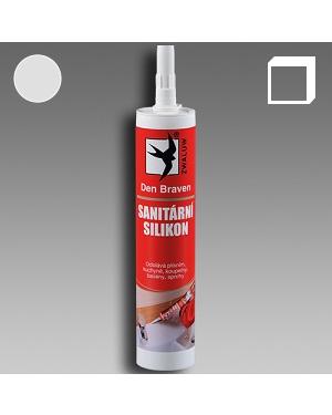 Sanitární silikon stříbřitě šedý 310ml karton