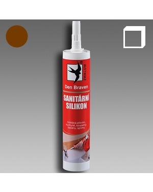 Sanitární silikon hnědý 310ml karton
