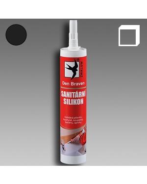 Sanitární silikon černý 310ml karton