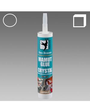 MS Polymerový tmel Mamut Glue Crystal transparentní 290ml karton
