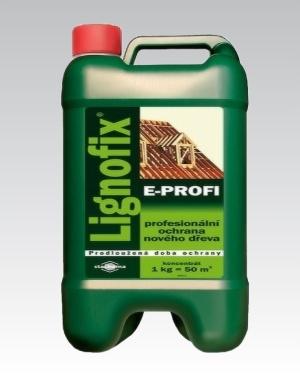 Lignofix E-Profi hnědý 10kg