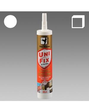 MS Unifix univerzální lepicí a těsnící tmel bílý 290ml karton
