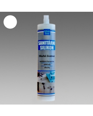 Sanitární silikon SL bílý 310ml