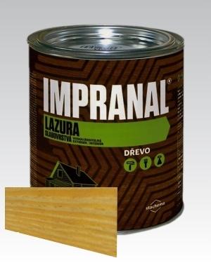 Lazurovací lak - tenkovrstvá Lazura na dřevo Impranal pinie 2,5l