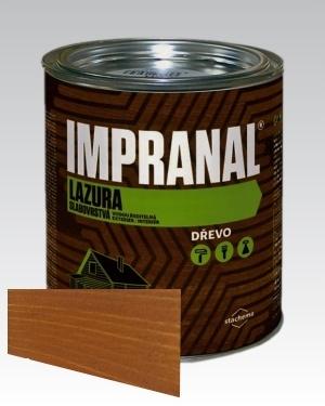 Lazurovací lak - tenkovrstvá Lazura na dřevo Impranal kaštan 2,5l