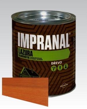 Lazurovací lak - tenkovrstvá Lazura na dřevo Impranal višeň 2,5l