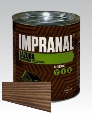 Lazurovací lak - tenkovrstvá Lazura na dřevo Impranal ořech 2,5l