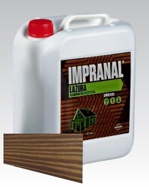 Lazurovací lak - tenkovrstvá Lazura na dřevo Impranal ořech 5l