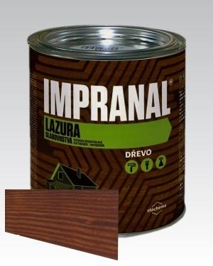 Lazurovací lak - tenkovrstvá Lazura na dřevo Impranal teak 2,5l