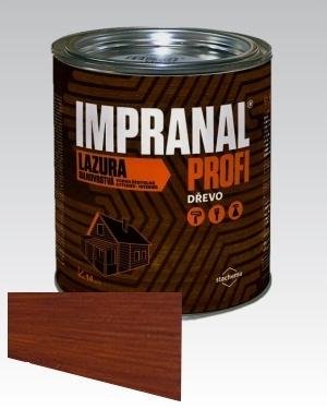 Lazurovací lak - silnovrstvá Lazura na dřevo Impranal Profi teak 2,5l