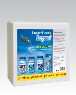 Laguna startovací bazénový set - pH minus