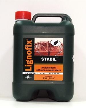Lignofix Stabil hnědý 5 kg