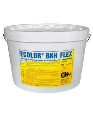 Barva na beton pružná - Nátěr na beton Ecolor BKH Flex 11kg odstíny RAL