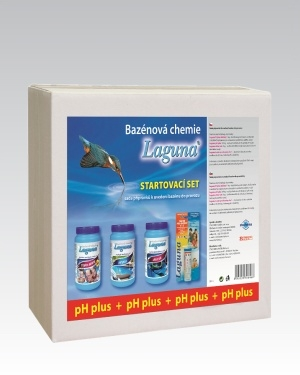 Laguna startovací bazénový set - pH plus