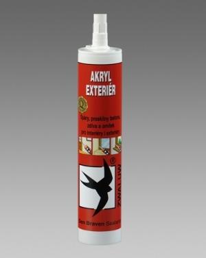 Spárovací tmel - Akrylový exterier