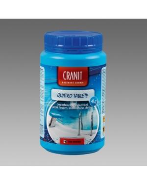 Bazénová chemie Cranit Quatro 1kg