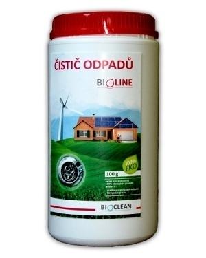 Čistič odpadů - Bioline 1kg