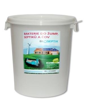 Bakterie do septiku - Bioseptik 15kg AKČNÍ CENA