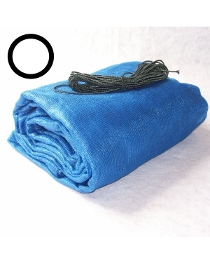 Krycí síť na bazén kruh 3,66m modrá