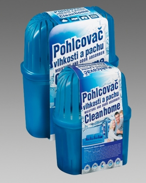 Náhradní náplň 450g pro Pohlcovač vlhkosti a pachu Cleanhome karton