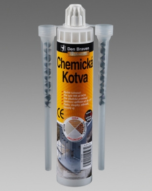Chemická kotva tekutá Den Braven 300ml karton