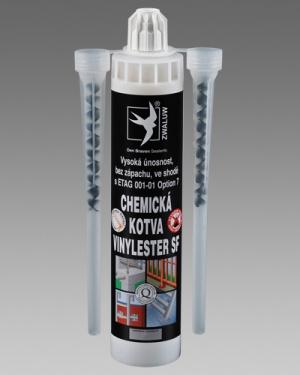 Chemická kotva tekutá Vinylester Den Braven 280ml karton