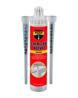 Chemická kotva Polyester Profi-Road 300ml karton