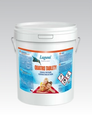 Laguna multifunkční tablety do bazénu Quatro 4v1 10kg